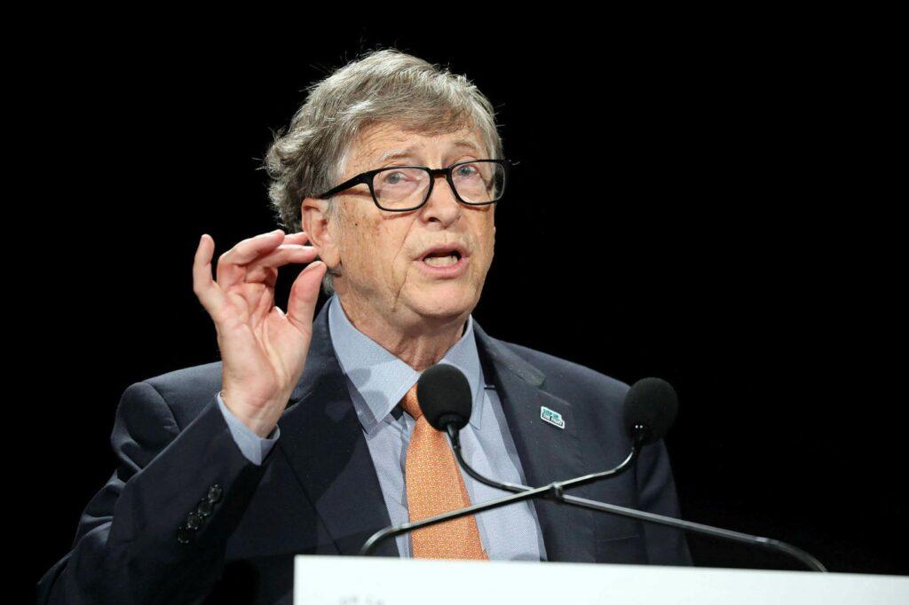 Bill Gates segir tæknina geta hjálpað heimsbyggðinni í baráttunni við hlýnun jarðar. AFP